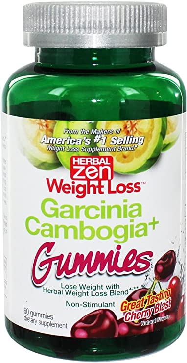 Amazon Com Herbal Zen Garcinia Cambogia Gummies Non Stimulant