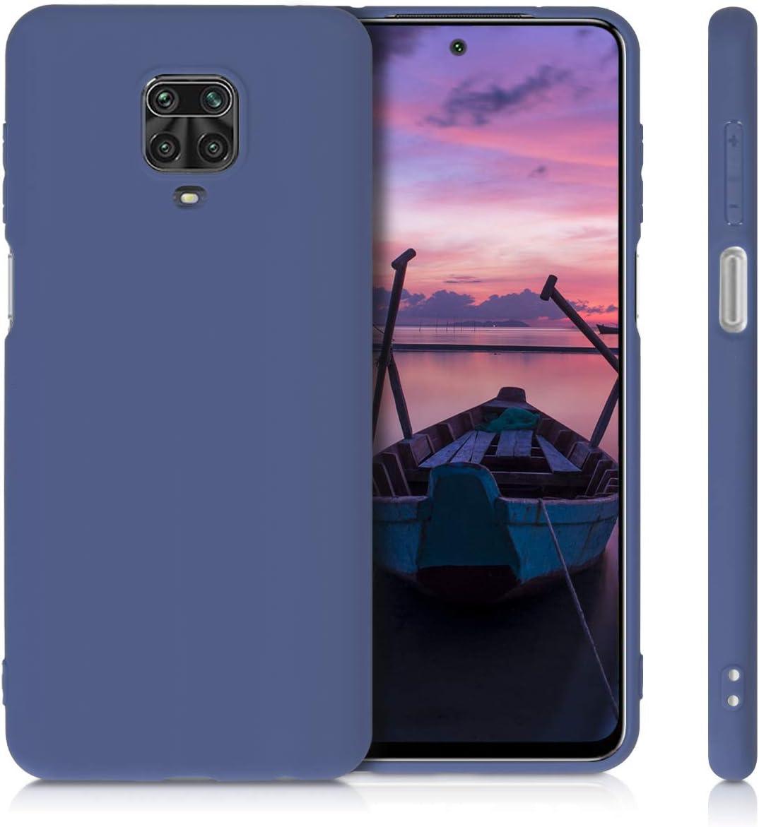 Protector Trasero en petr/óleo Metalizado 9 Pro MAX 9 Pro Carcasa m/óvil de Silicona kwmobile Funda Compatible con Xiaomi Redmi Note 9S