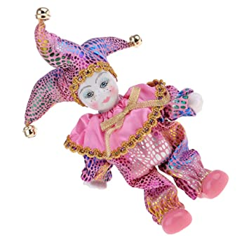12inch Cute Porcelain Italian Eros Triangel Doll Figure Birthday Gift Pink