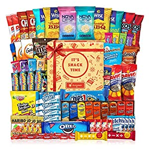 Party Snack Gift Bundle Care Package Cookie Chips & Candies