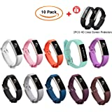 Fitbit Alta HR y Alta Band con cierre metálico Soft Silicone Replacement Band para Fitbit Alta HR y Alta Fitbit Alta Band Correa de silicona para Fitbit Alta