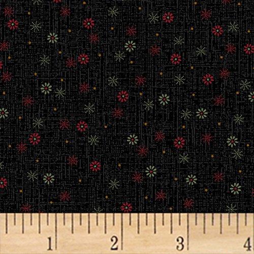 Marcus Brothers 0559027 Pam Buda Pieceful Pines Green Fabric by The Yard, ()