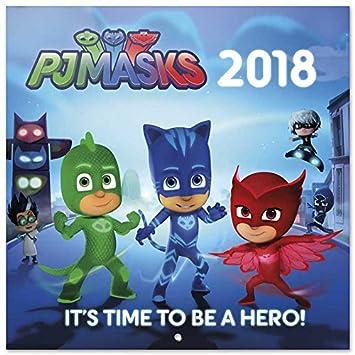 Grupo Erik Editores Calendario 2018 30X30 Pj Masks