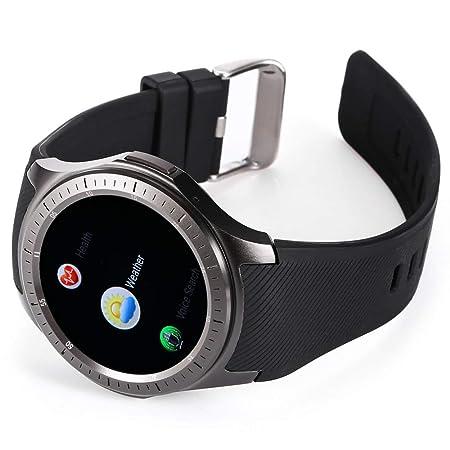 Amazon.com: SmarTwatch DM368 1.39 inch Smart Watch Quad Core ...