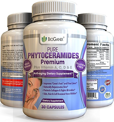 Phytoceramide Supplement Ceramide PCD Anti Aging Tightening