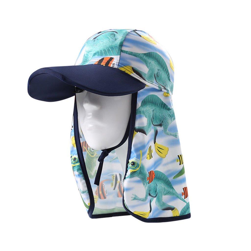 Sun Hats for Kids - Kids Sun Hat UV Sun Protection Beach Swim Hat Summer Sun Visor Cap Cycling Fishing Outdoor Sport Hat