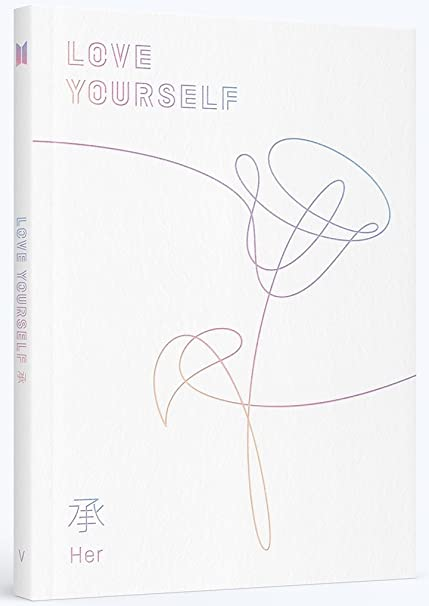 BigHit Entertainment Bts - Love Yourself [Her] [V Ver ] With Photobook,  Photocard