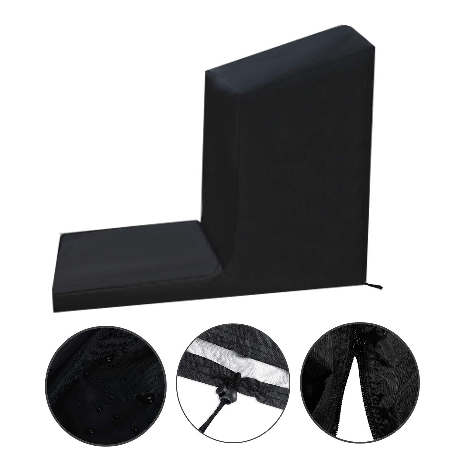 Fitness Equipment Protective Cover for Indoor//Outdoor Use Non-Folding Sports Running Machine Cover Made of Dustproof /& Waterproof Polyester Fabric iiSPORT Treadmill Cover