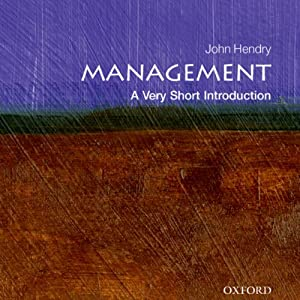 Management: A Very Short Introduction Audiobook