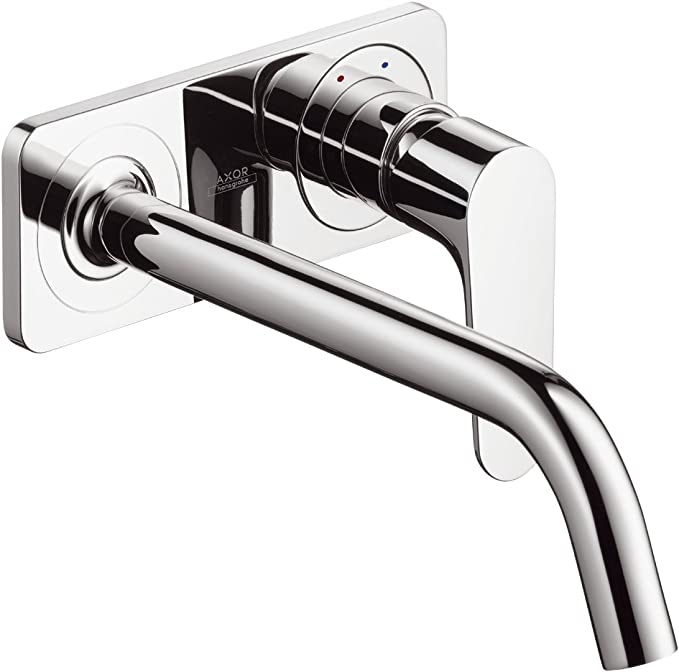 AXOR 45113001 Wall-Mounted Trim Select Chrome 1.2 GPM Bathroom Faucet