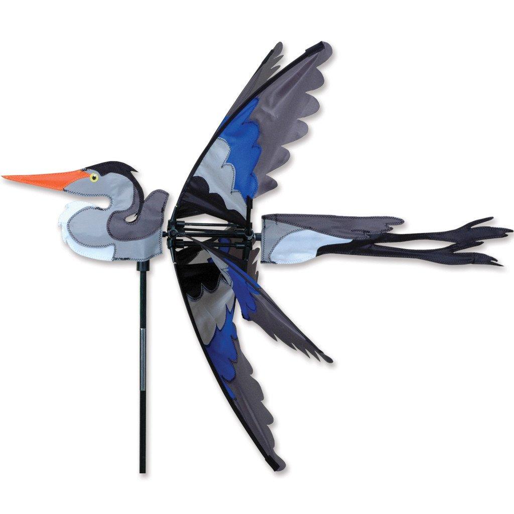 Premier Kites 30 in. Great Blue Heron Spinner
