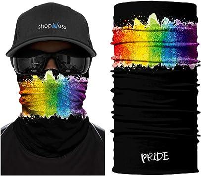 ShopINess Schlauchtuch Multifunktionstuch Bandana Pride