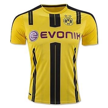 Kit de camiseta de Dortmund Borussia (2016-2017) para poner nombre y número, de flores en amarillo., hombre, amarillo, large: Amazon.es: Deportes y aire ...
