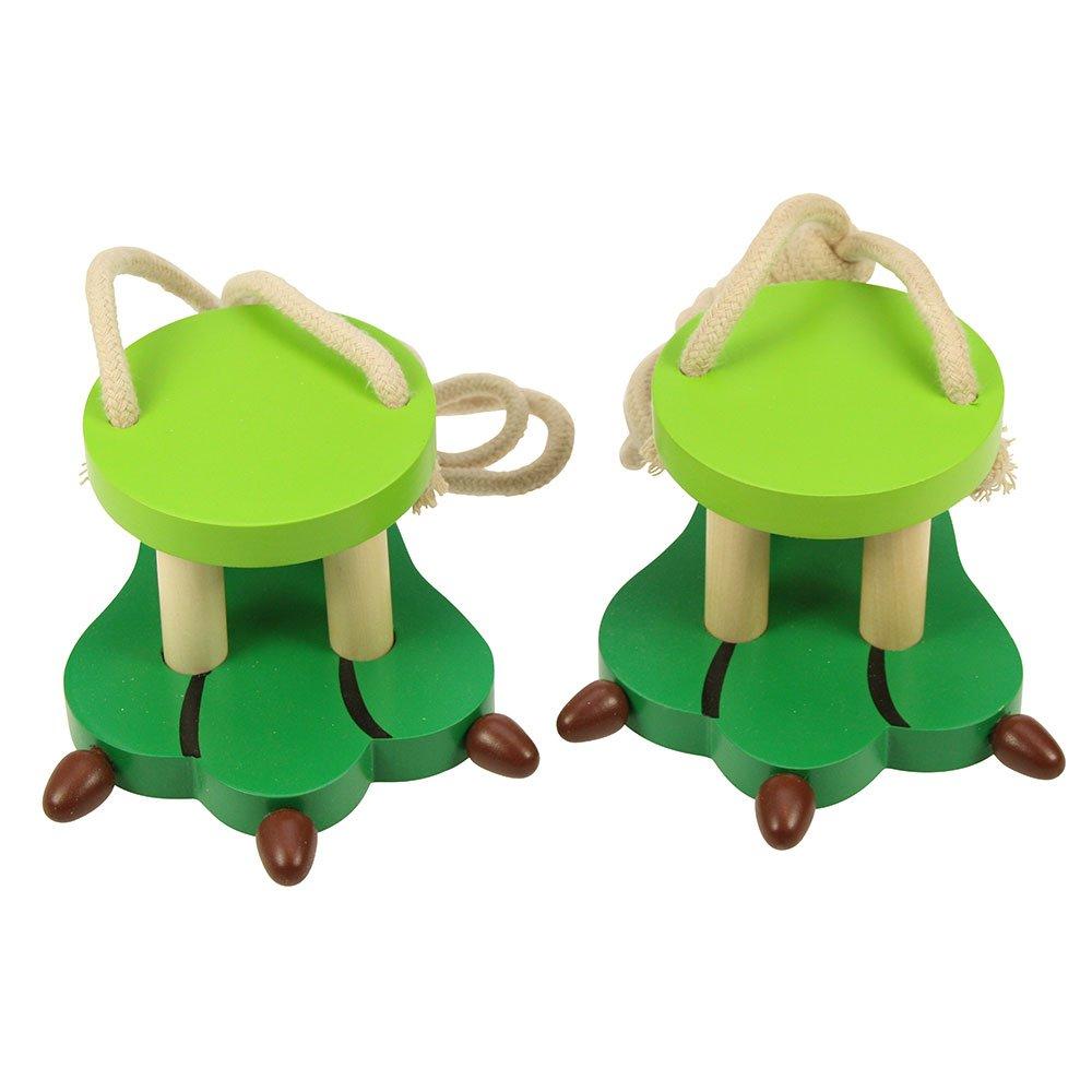 Bigjigs Toys Wooden Crocodile Footwalkers BIBJ868