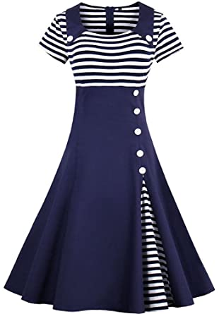 Vintage Hollywood Casual Dresses