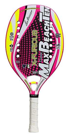 Pala de Tenis Playa MBT X-FURIOUS 2018: Amazon.es: Deportes y aire libre