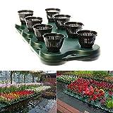 16Plugs /2pcs Aquaponics Floating Pond Planter Basket- Hydroponic Island Gardens by Aquarium Supplies