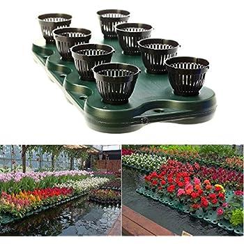 7pcs aquaponics floating pond planter basket for Outdoor aquarium pond planter