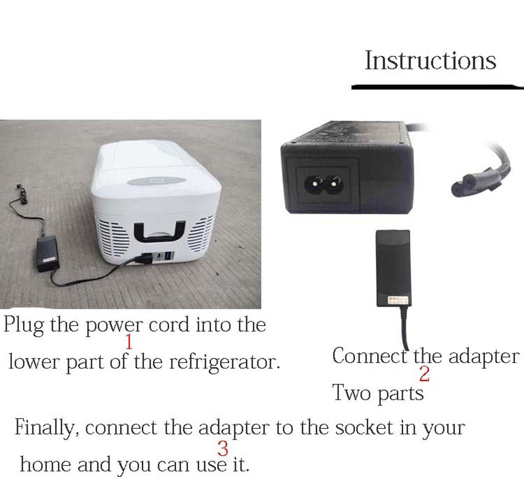 DSHBB Car Fridge Mini,40 Liters Of Large Capacity,Mini Freezers,home Camping Fridge (Color : 3) by DSHBB (Image #2)