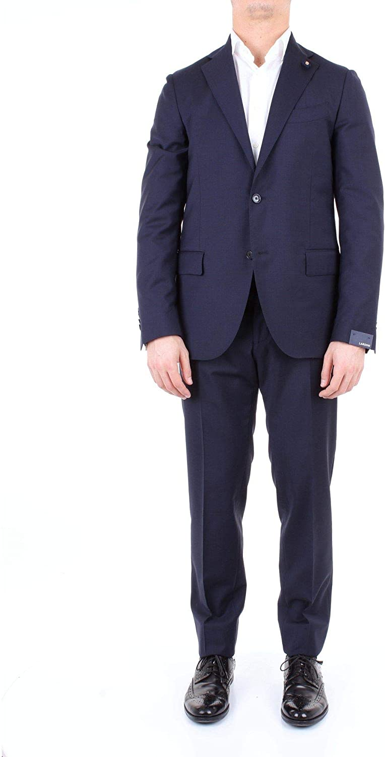LARDINI Luxury Fashion Mens EG861AFEGRP52489BLUE Blue Suit | Season Outlet 61Y-a-SHhzLUL1500_