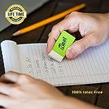 Eraser by Nael Office-White Vinyl -Rectangular