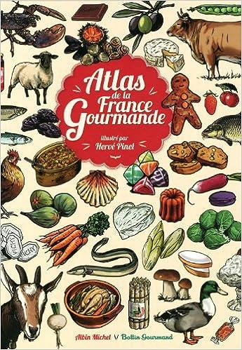 Livres gratuits Atlas de la France gourmande epub, pdf
