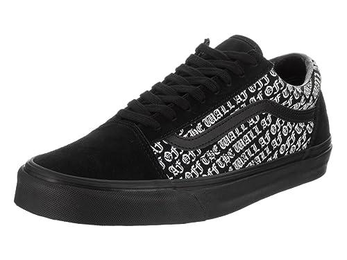 ec82c8528b1 Vans Womens Old Skool Black Suede Trainers 4.5 UK  Amazon.co.uk  Shoes    Bags
