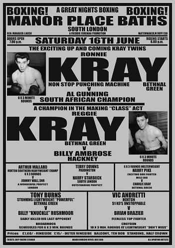 Black And White Boxing Posters