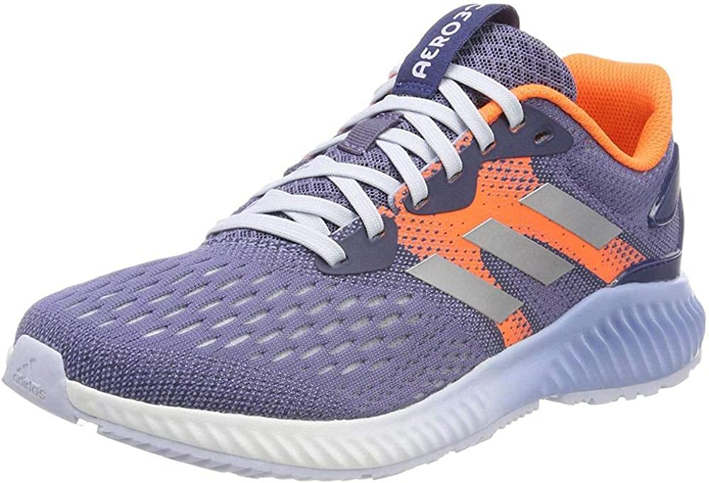 adidas Women's Aerobounce Training Shoes Blue Rawind Silvmt Hireor Rawind Silvmt Hireor