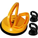 Kaisiking Yellow Suction Cup Dent Puller Handle Lifter Car Dent Puller Remover for Car Dent Repair, Glass,Tiles, Mirror…