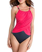 Magicsuit Women's Magic Solids One Piece High Neck Swimsuit