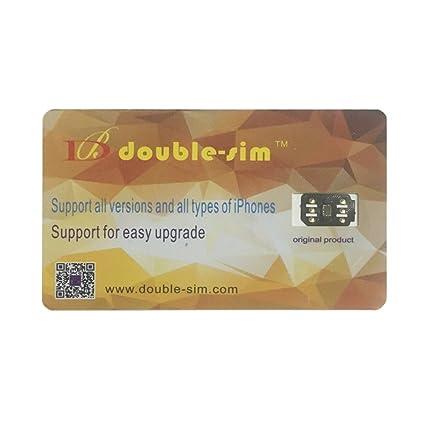 Iphone 7 Sim Karte Entsperren.Magideal Double Sim Unlock Sim Turbo Card For Iphone X Amazon Co Uk