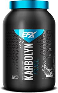 EFX Sports Karbolyn Fuel | Pre, Intra, Post Workout Carbohydrate Supplement Powder | Carb Load, Energize, Improve & Recover Faster | Easy to Mix | Neutral (4 LB 4.8 OZ)