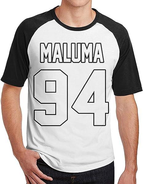Maluma Man Cool Cuello Redondo Manga Corta Camisa de algodón ...
