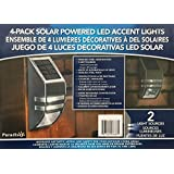 Amazon Com Hgtv Home 8 Piece Led Solar Pathway Lights