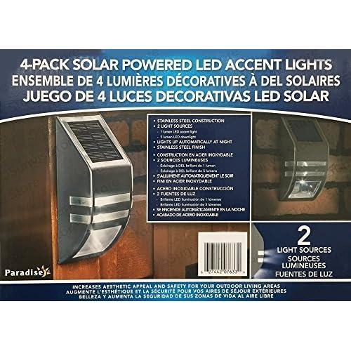 Paradise Solar Led Accent Lights Reviews: Solar Accents: Amazon.com