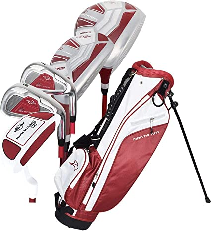 Amazon Com Ray Cook Manta Ray Junior 8 Piece Set With Bag Ages 9 12 Dark Maroon Sports Outdoors