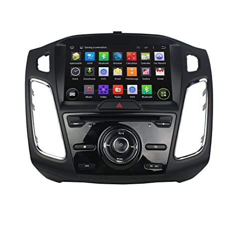 9 Inch GPS Navigation for FORD FOCUS 2015 2016 Android 5.1 Quad-Core Car Stereo