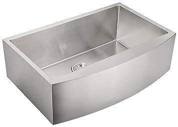 AguaStella Sink Stainless Steel Farmhouse Apron Kitchen Sink 30 Inch ...