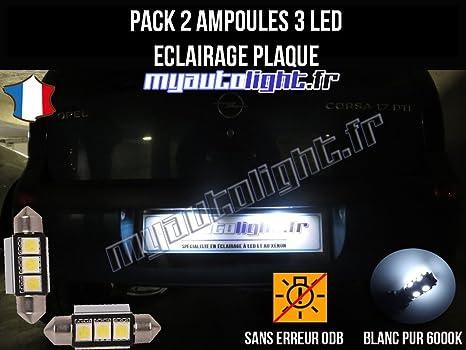 Pack lampadine led illuminazione piano cottura per opel corsa