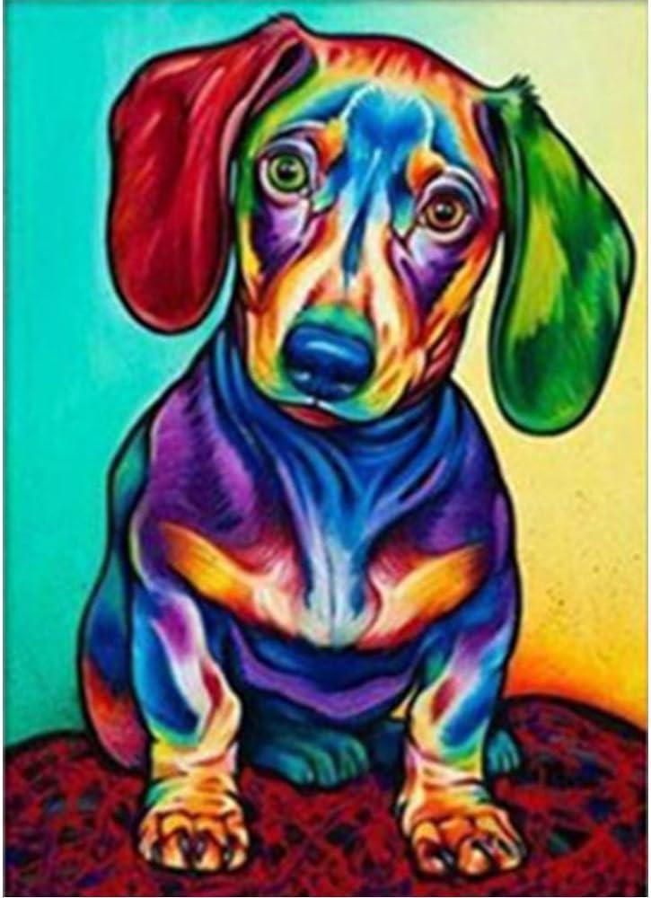 5D Pintura por Diamantes perro (3LGW)
