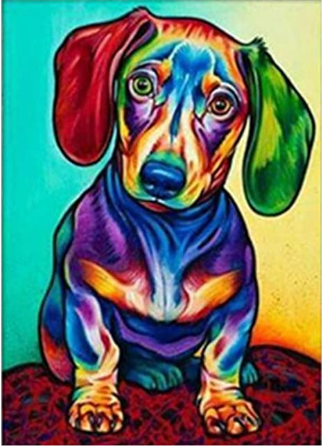 DIY Diamond Painting Animal Cross Stitch Kits Embroidery Mosaic Craft Home Decor