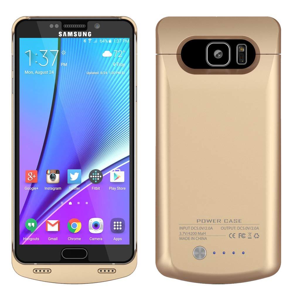 Funda Con Bateria De 4200mah Para Samsung Galaxy Note 5 Runsy [154l78ue]