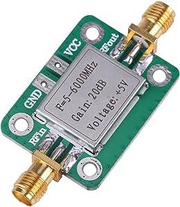 5-6000MHz RF Amplifier,Gain 20dB Broadband RF VHF UHF Signal Power Amplifier Module
