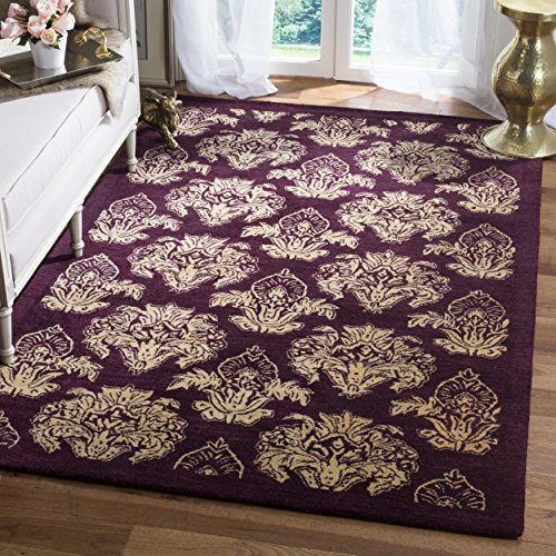 Safavieh MET968A-5 Metro Collection Handmade Wool Area Rug, 5' x 8', Multicolored ()