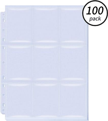 Amazon.com: Favourde - Juego de 900 bolsillos para tarjetas ...