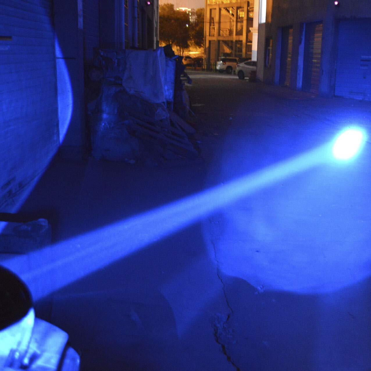 FidgetGear 20W LED Spot Forklift Truck Blue Warning Lamp Safety Working Light 10-60V