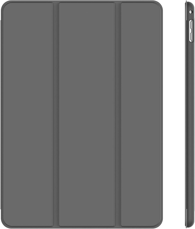 JETech Case for iPad Mini 4, Smart Cover with Auto Sleep/Wake, Grey