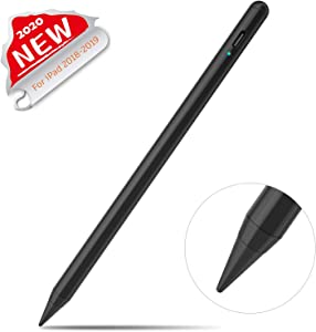 """Stylus Pen 2nd Gen, Digital Pen for Apple iPad (6th&7th Gen),iPad Air (3rd), iPad Mini (5th),iPad Pro 3rd (11""""&12.9""""),with Palm-Rejection.Precise Drawing and Writing,for IPad Apple Pencil 2 (Black)"""