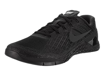 Nike Men's Metcon 3, BLACK/BLACK, ...